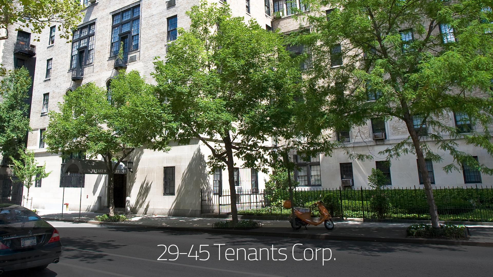 29 45 tenants corp