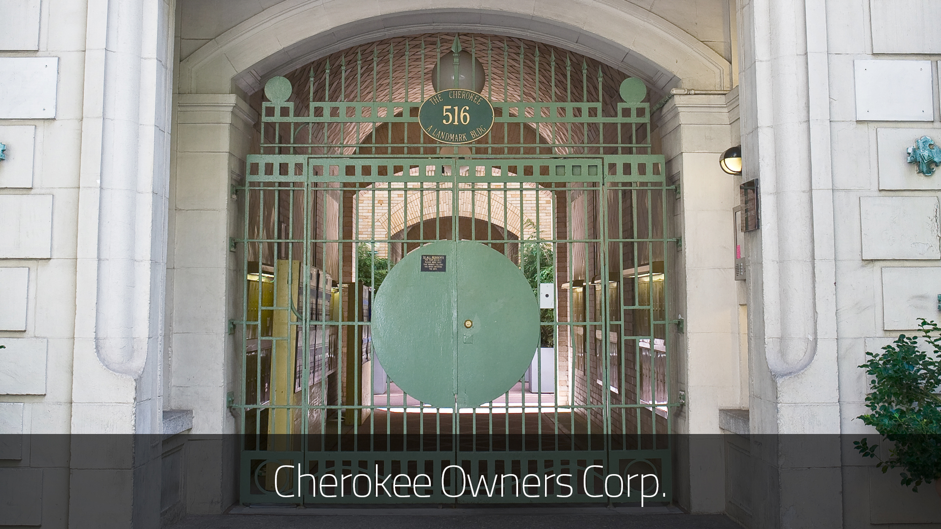 Cherokee owners corp